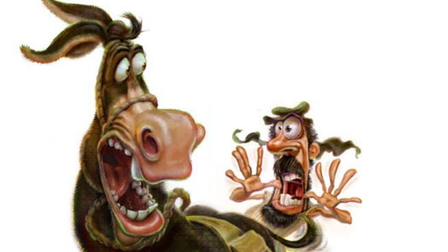 Image result for talking donkey